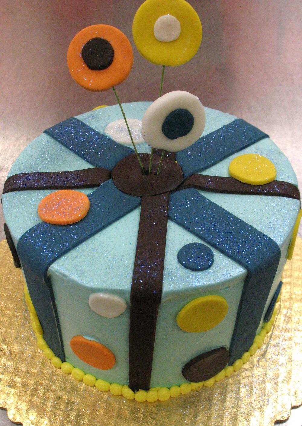 Funky Dot Cake