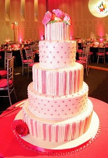 Baby Pink Shower Cake