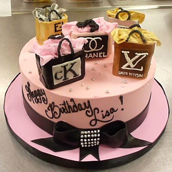Cake Shopping Bag