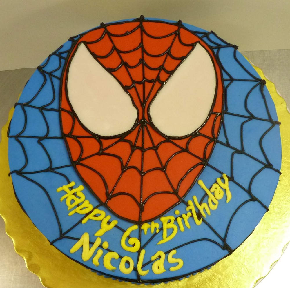 Spiderman Kid's Cake