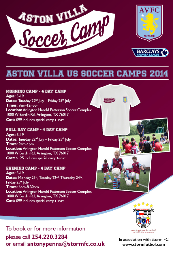 2014 ASTON VILLA Flyer