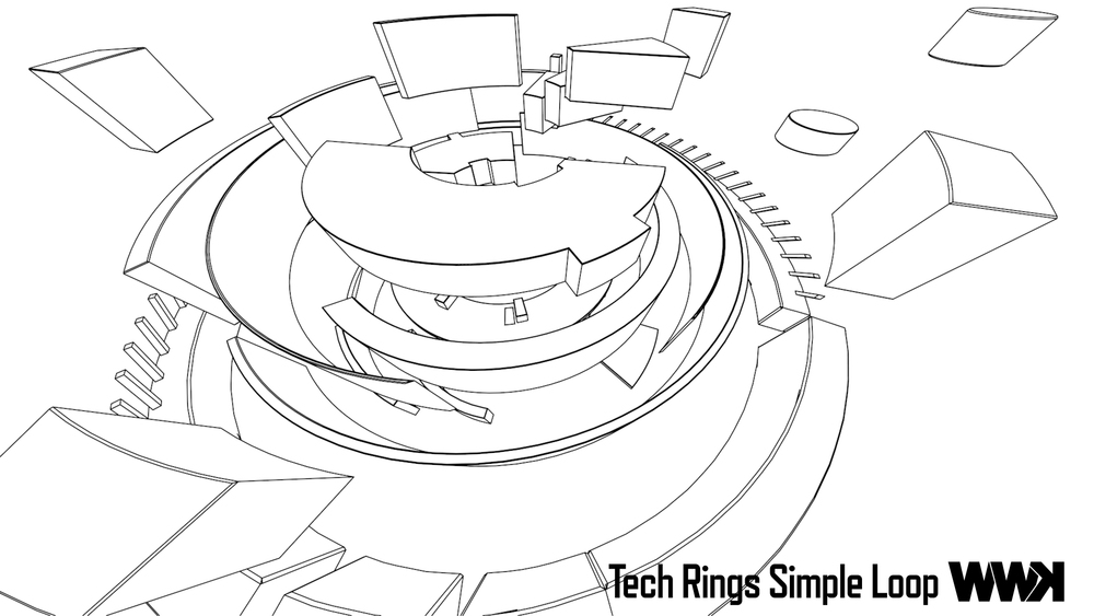 Tech Rings Simple Loop