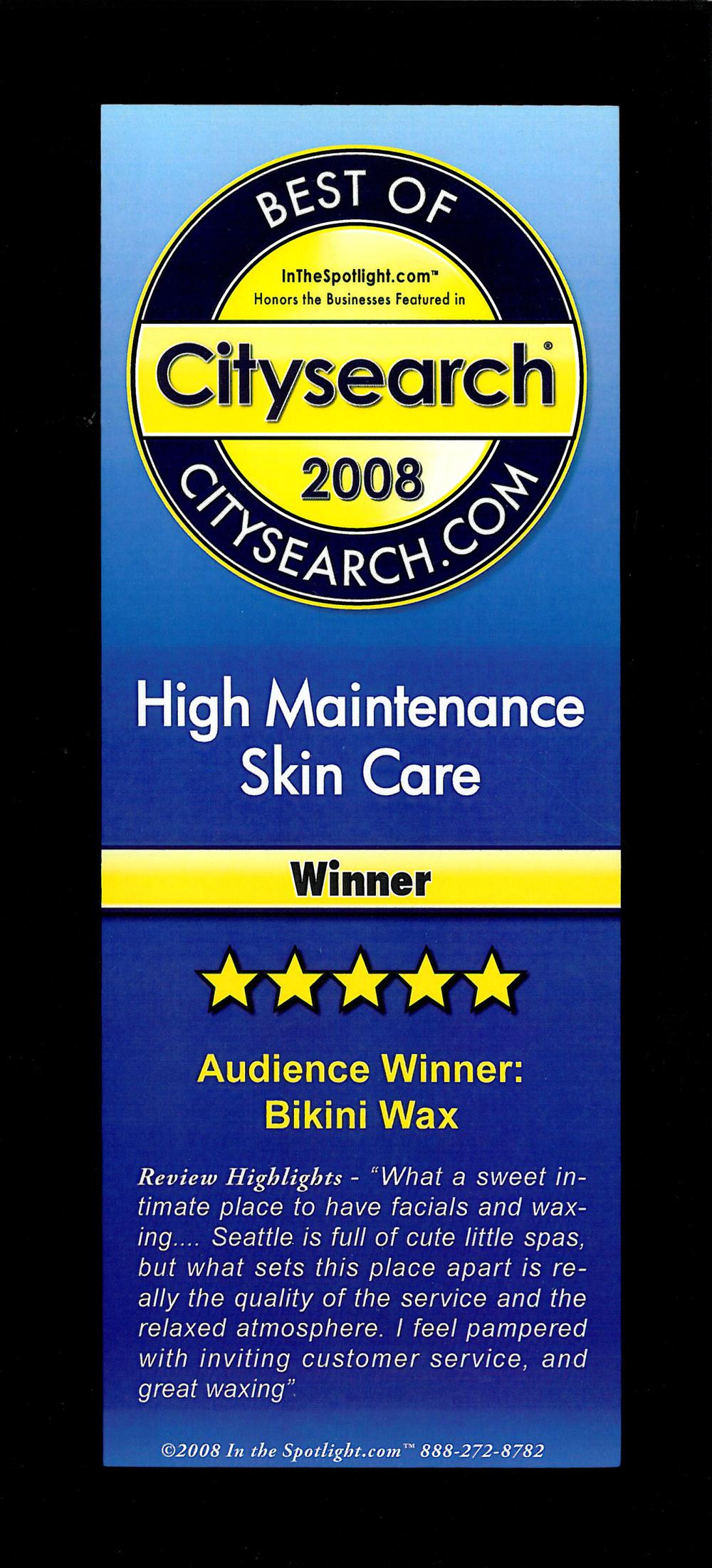 Citysearch 2008