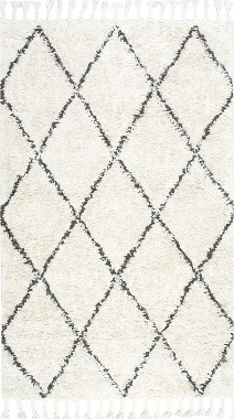 Hand-knotted wool accent rug. NULOOM $128