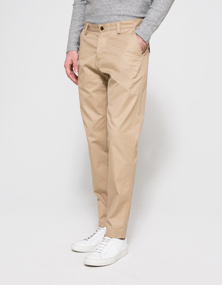 Wings+Horns Twill Tokyo Pant in Khaki