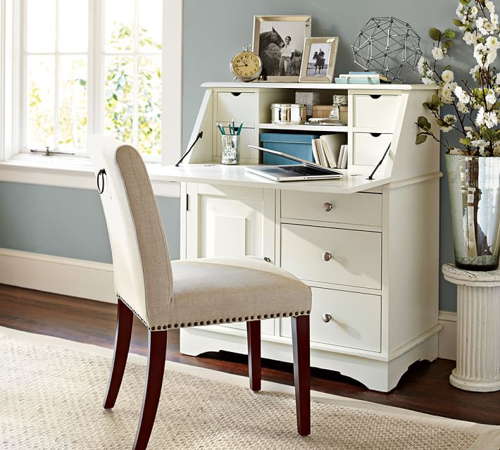 "Graham Secretary 37"" x 20"" x 43""  POTTERY BARN $999"