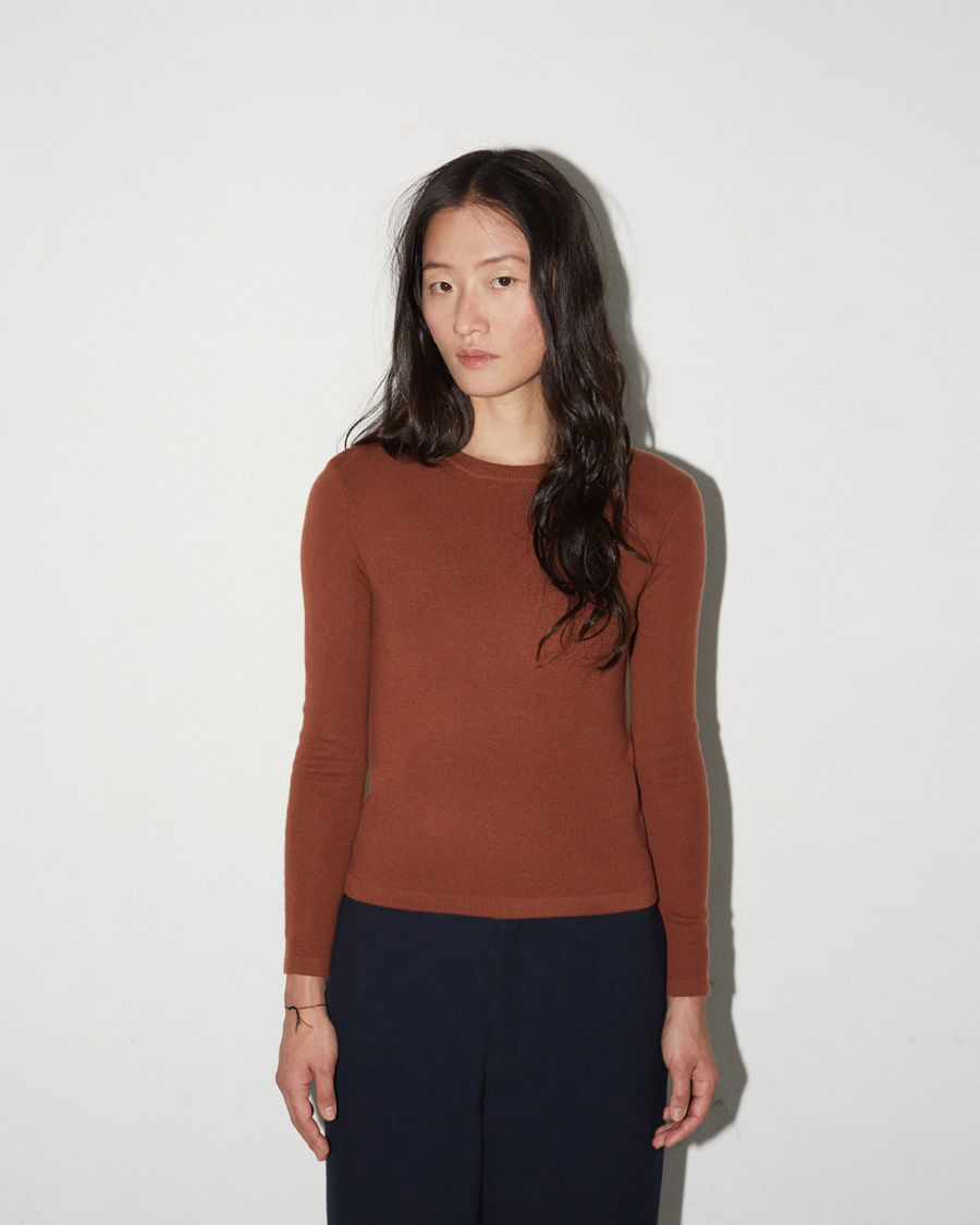 Portrait Mockneck Sweater