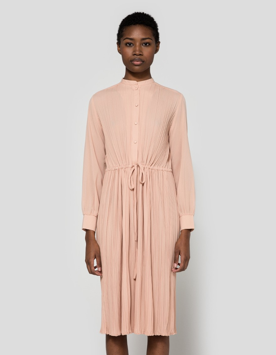 Newman pleated dress