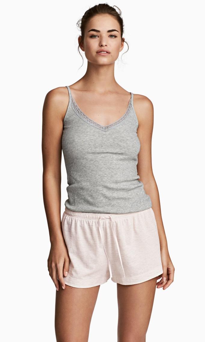H&M Pajama Shorts