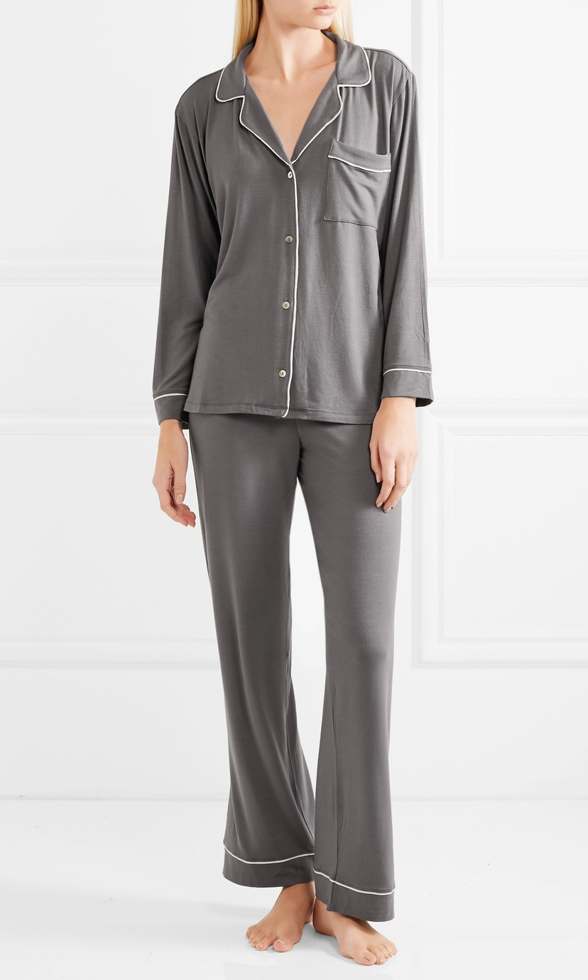 EBERJEY Stretch Modal Pajama Set