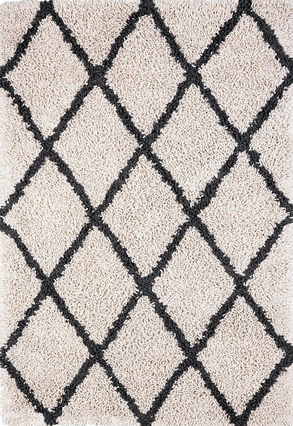 Silky Shag Diamond Rug ANJI MOUNTAIN