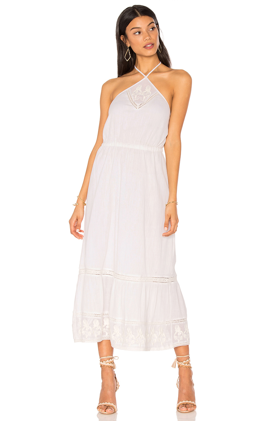 Cayo Blanco Halter Dress