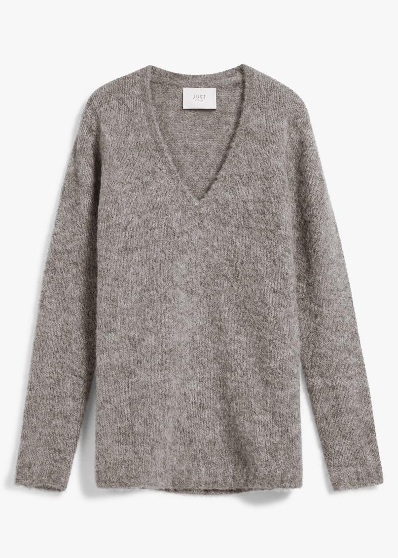 JUST FEMALE Alpha Knit Blouse $91