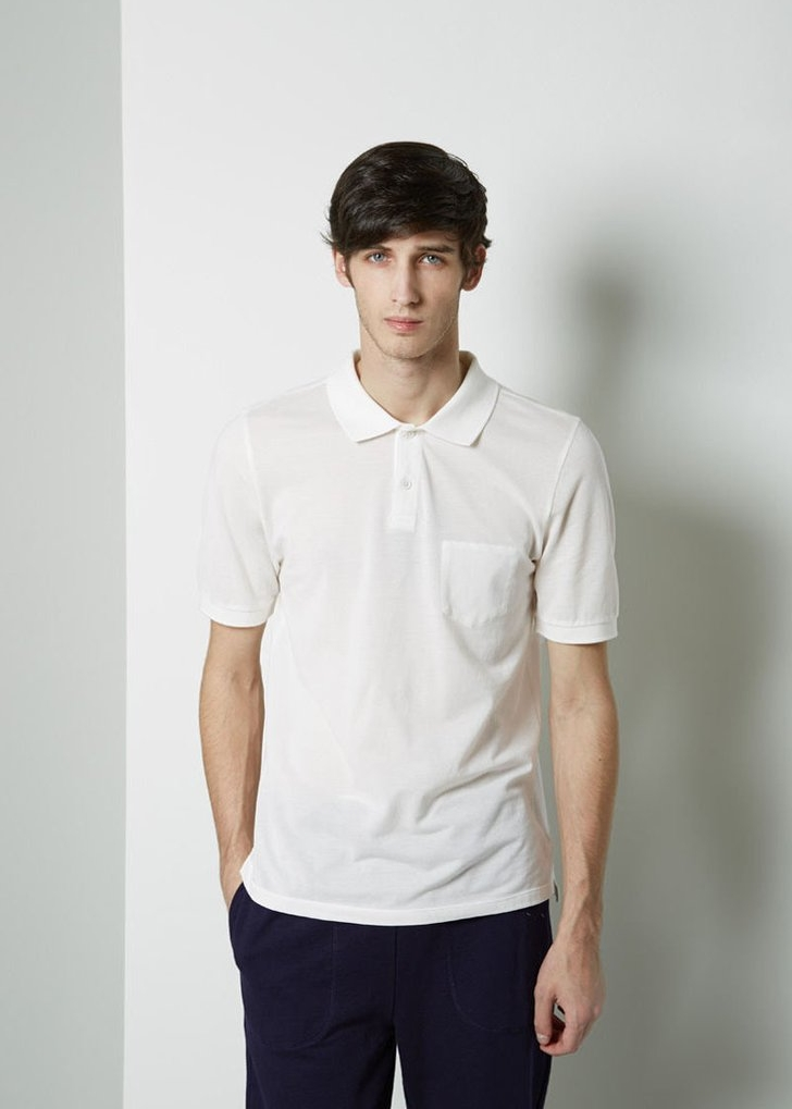 BAND OF OUTSIDERS Trap Pocket Polo $34