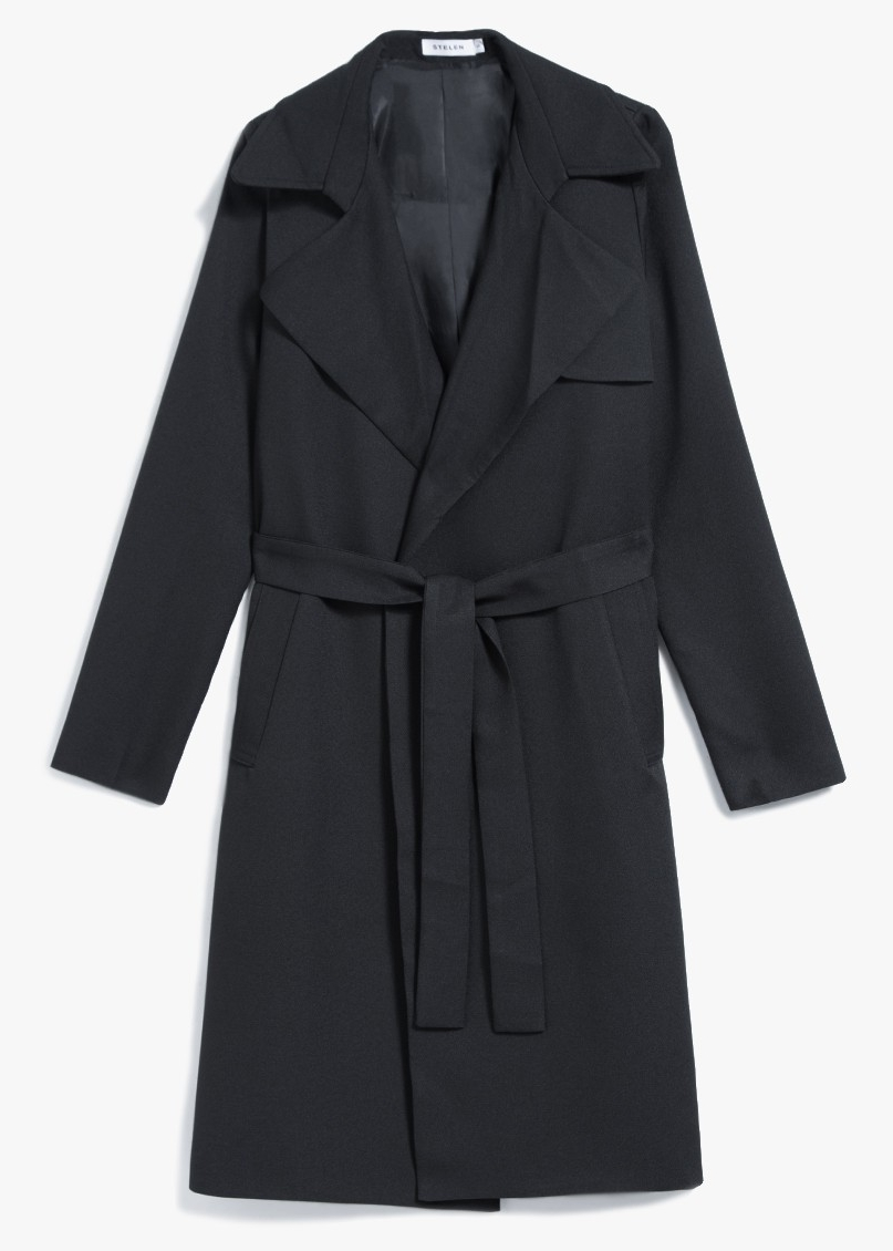STELEN Lucia Trench Coat $86