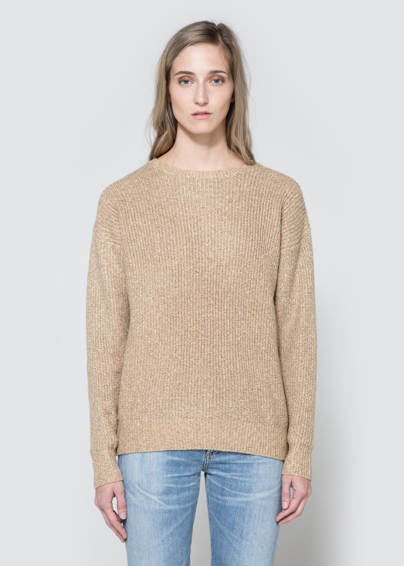 CALLAHAN Heathered Boyfriend Sweater $74
