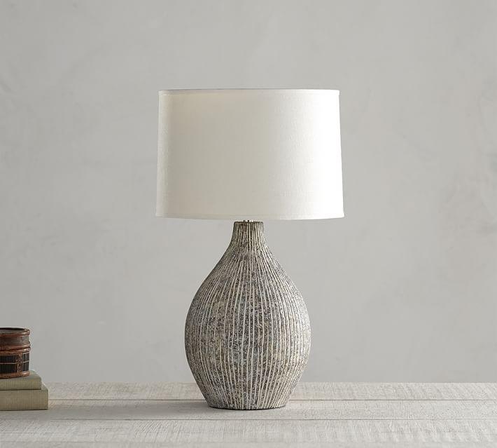 Lima Ceramic Lamp Base