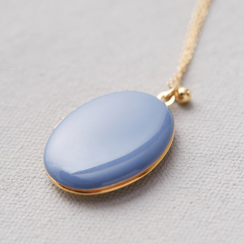 Parisian Enamel Locket