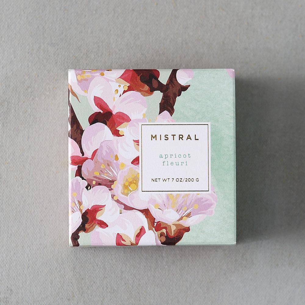 MISTRAL Apricot Fleuri Soap $12