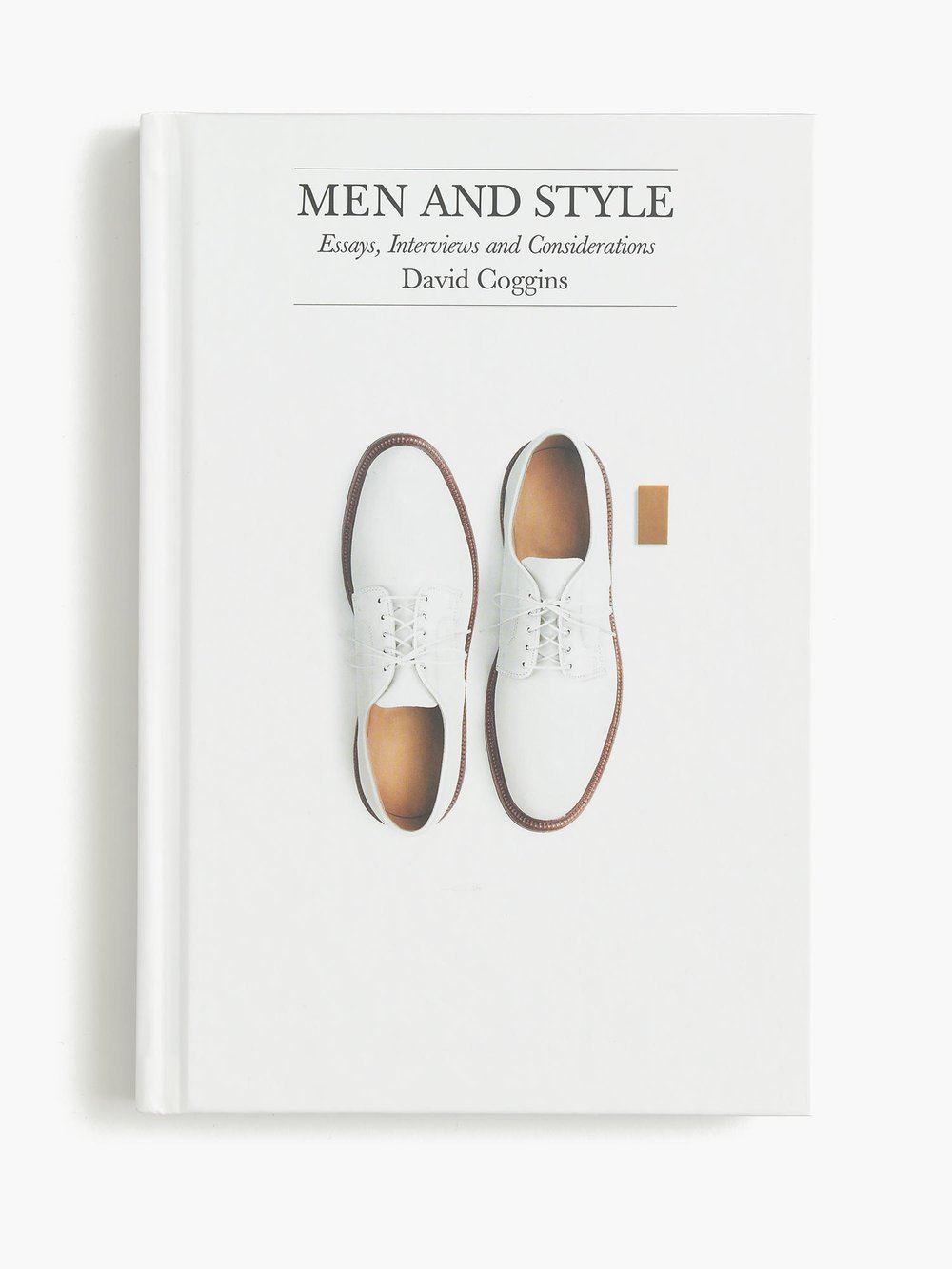 "JCREW Men and Style Essays  Considered ""a style guide that's man's best friend,"" this book is equal parts sartorial guide and conversational companion. Brilliantly written and edited by David Coggins, its essays and interviews discuss the lessons men learned from their fathers, the mistakes they made when they were young and how they emerged to become better men who wear their wisdom lightly."