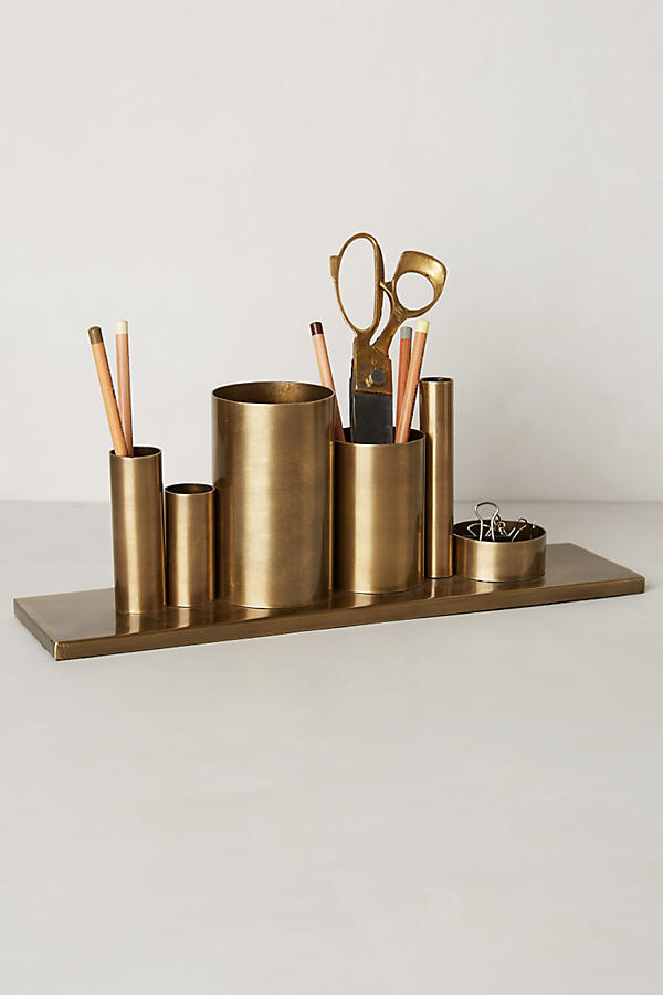DESKTOP Codify Pencil Holder  ANTHROPOLOGIE