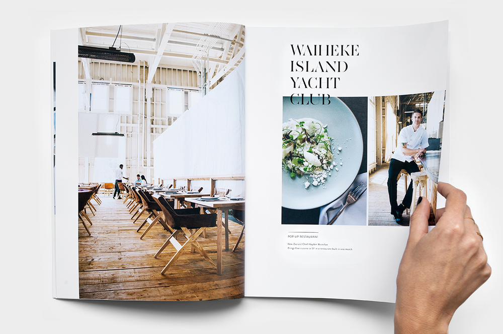 A beautiful spread of food and lifestyle editorial from designer Emma Brooks of  Emmadime and California based photographer  Eva Kolenko .