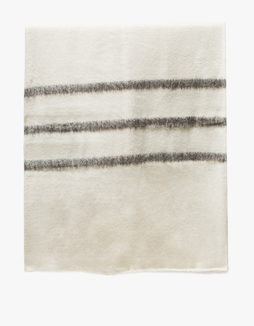 Sabana Wool Throw Stripes