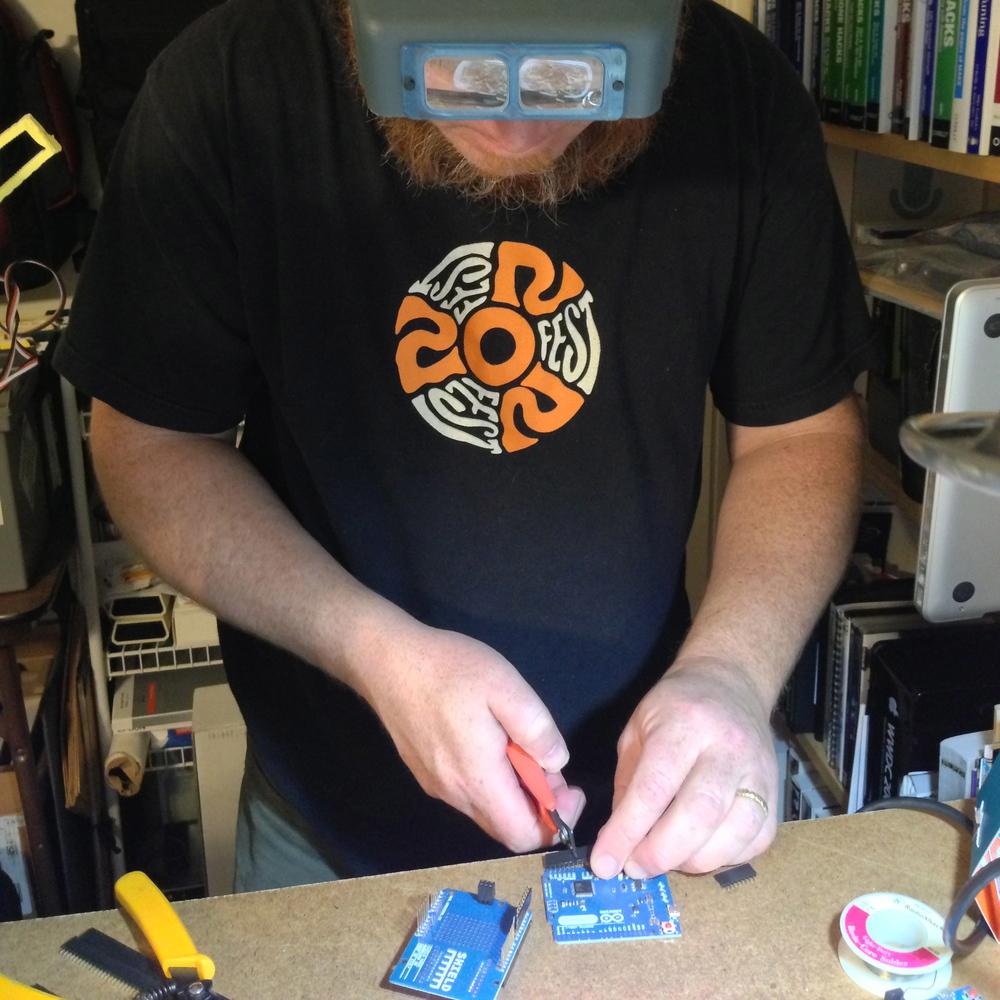 More soldering