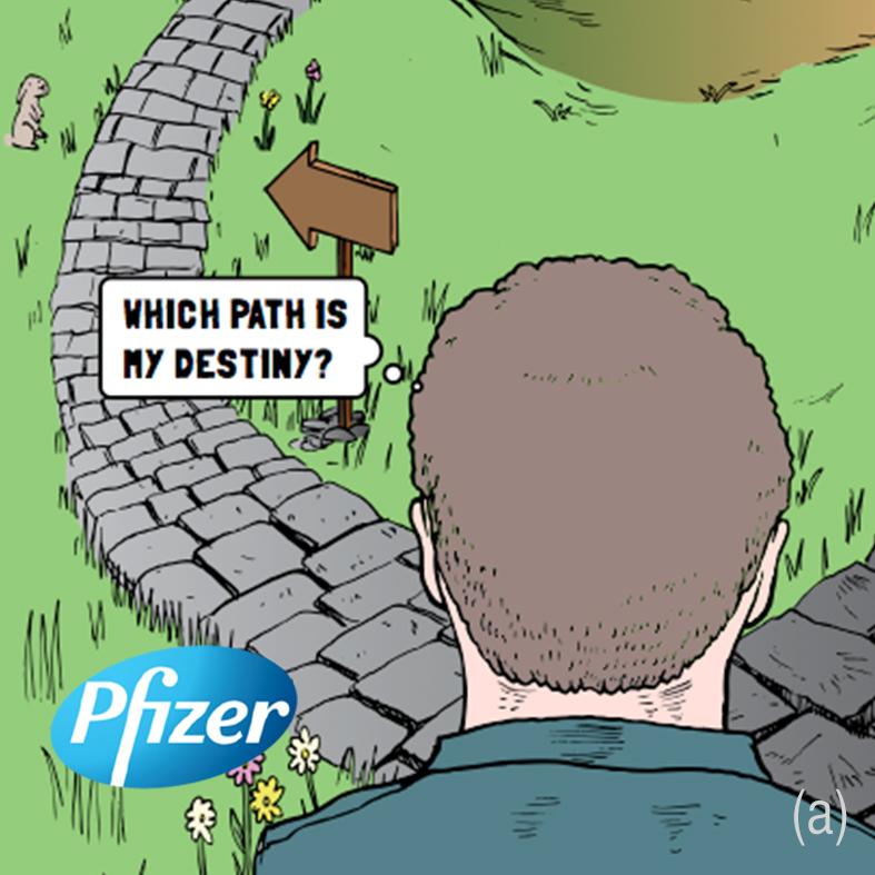 Pfizer Comic