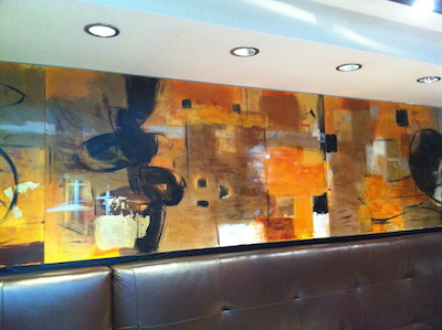 3' x 12', Oils on Board Commissioned by the Sushe Den Restaurant, Denver, CO