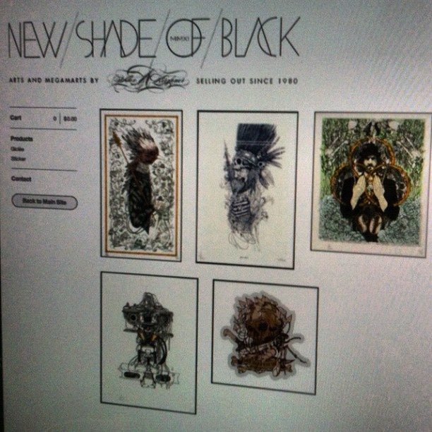 New NYCC exclusive prints are up for sale in my store  www.newshadeofblack.bigcartel.com  go get 'em