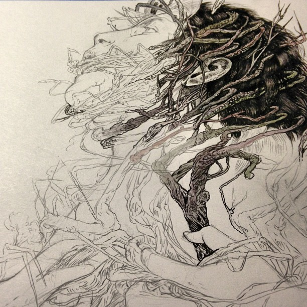 "Operation ""ink this thing"" #wip"