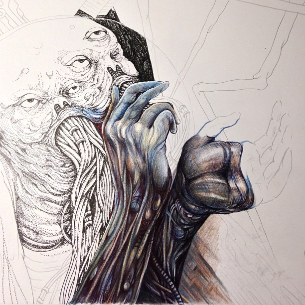 Heading this way cuz it's fitting. #wip