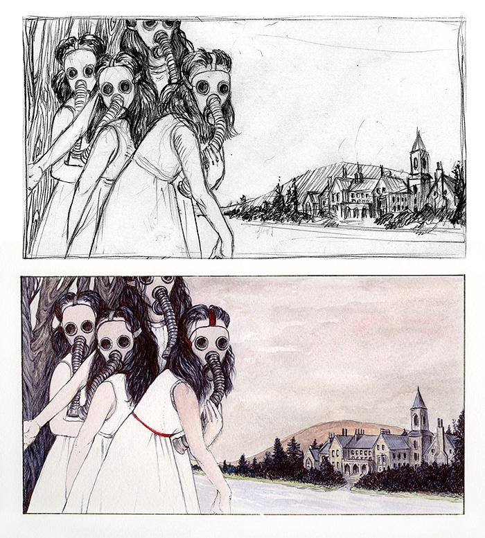 Sketch Vs. Final