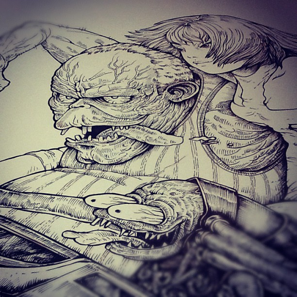 Ink done #ink #wip #fink