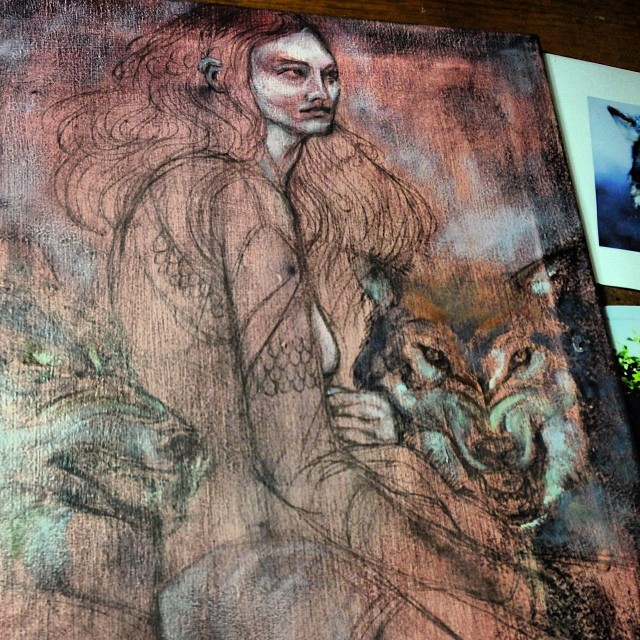 Started under painting #oil #painting #fridaynightartdork #everynightartdork