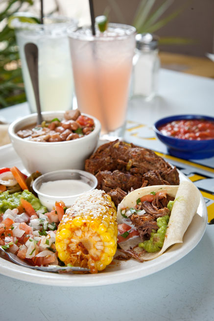 """Zia's tremendous platter of spicy and tender barbacoa""  Photo:  Jonathan Boncek,  Charleston City Paper"