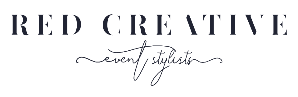 Red Creative - Event Styling // re-imagining events