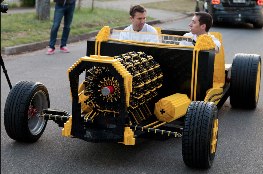 The LEGO car beast
