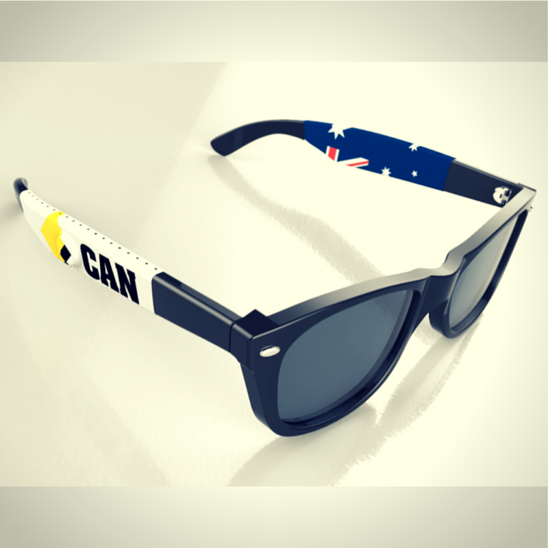 LodeStone: Magnet enhanced eyewear and promotional wraps preventing loss and breakage