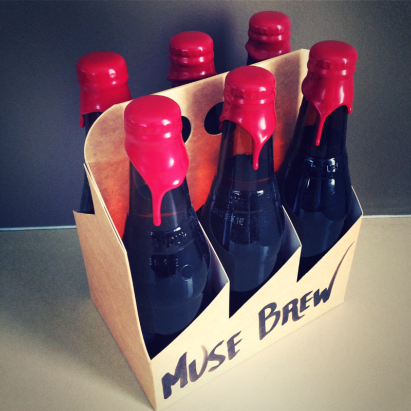 Muse Brew: Our in-house home-brew. Because the best ideas always happen over a couple of beers