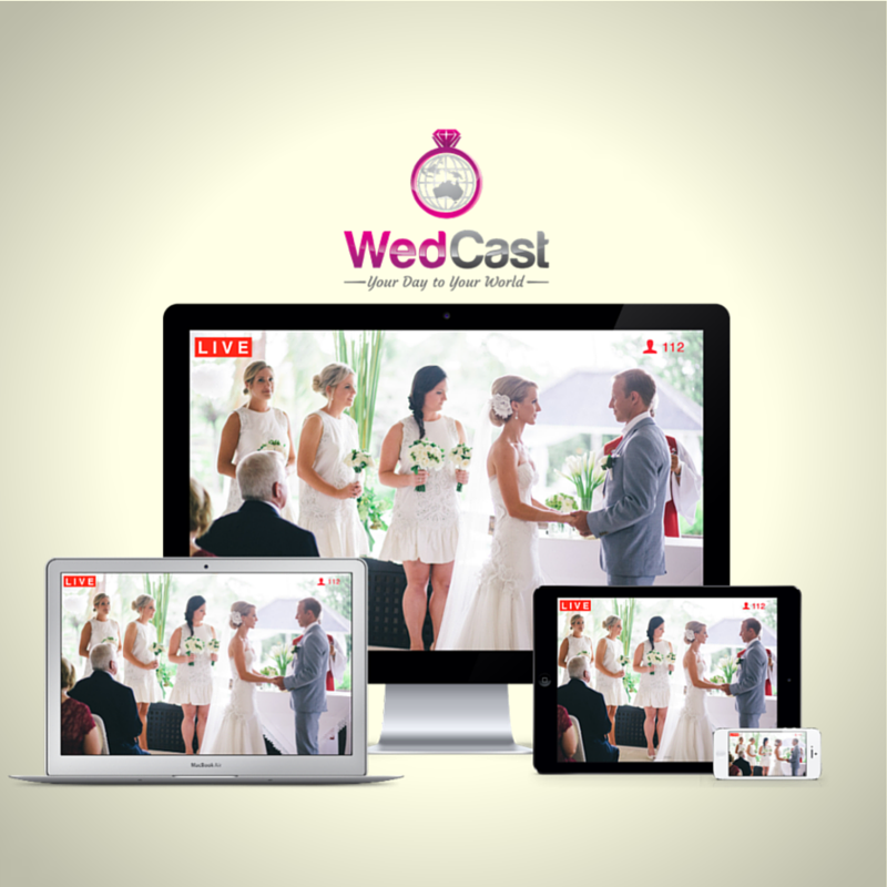 WedCast: A premium, HD, LIVE streaming service for weddings