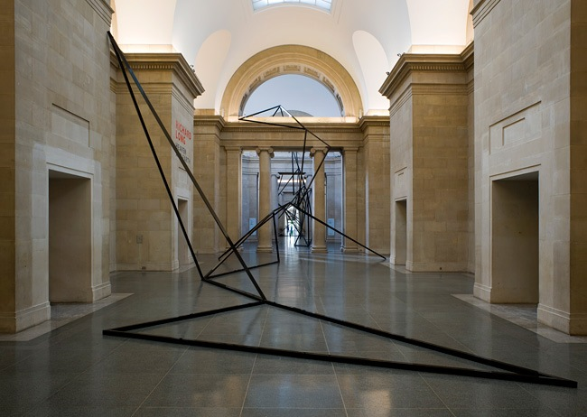 Cold Corners, Eva Rothschild. TATE Britain May, 2013