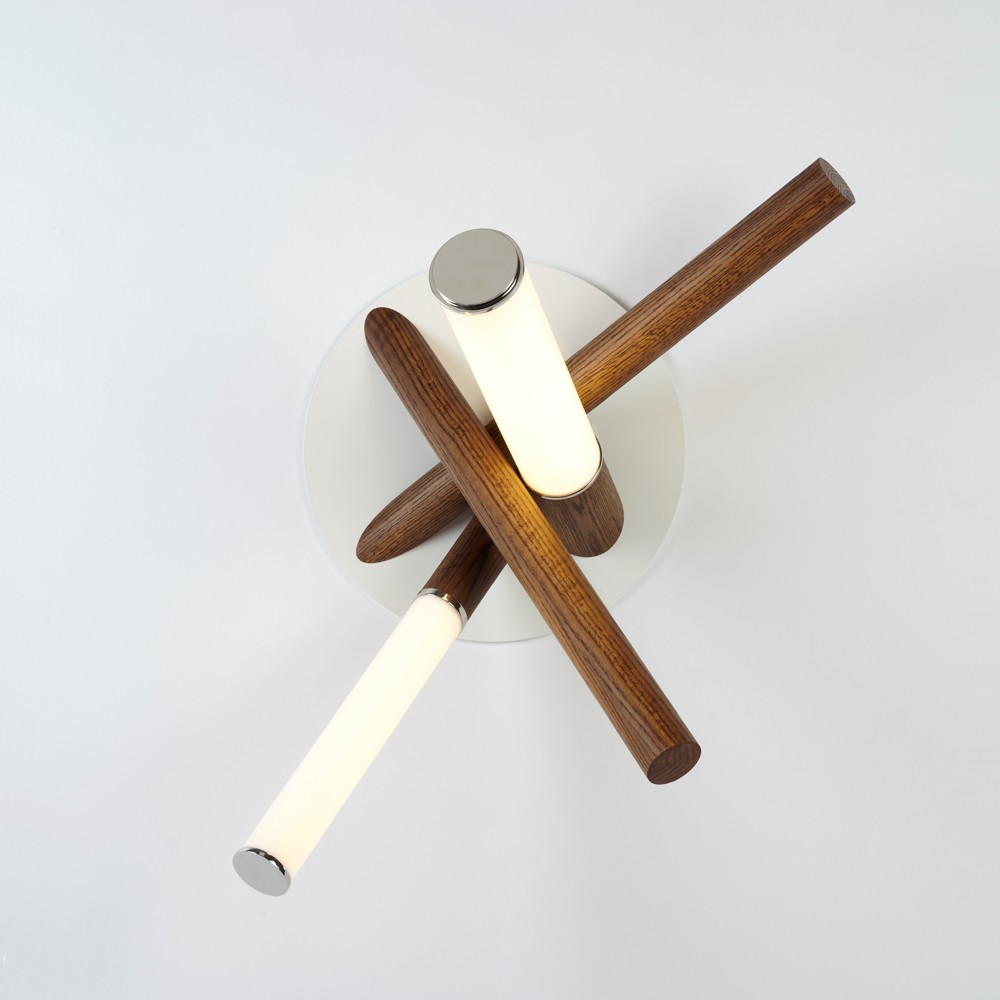 Mini Endless Sconce by Jason Miller