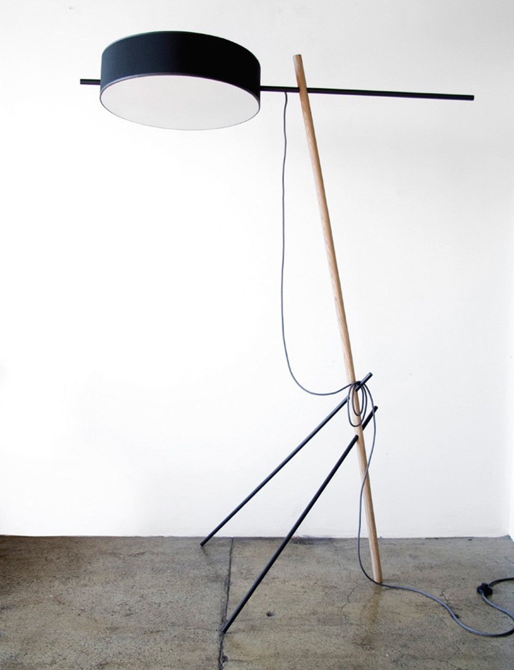 Excel Floor Lamp by Rich Brillliant Willing