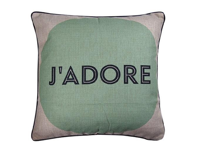 J'Adore Cushion Cover