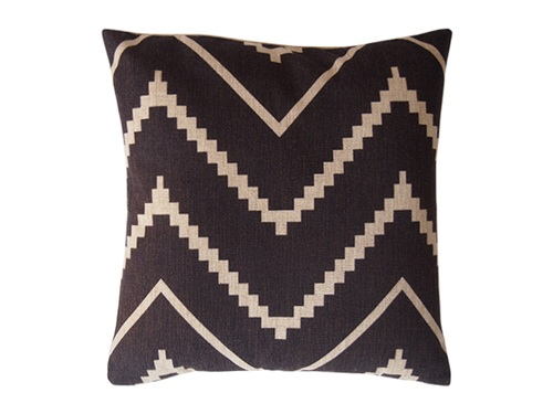 Aztec Monochrome Cushion
