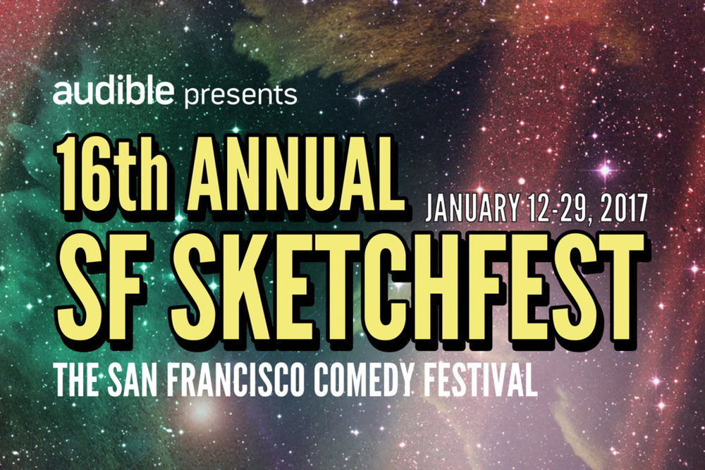 Thrilled to be making my SF Sketchfest debut!