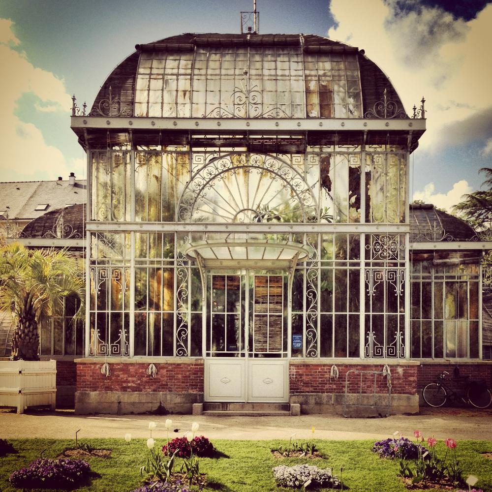 Dans le Jardin des plantes de Nantes — sebboisnard.com