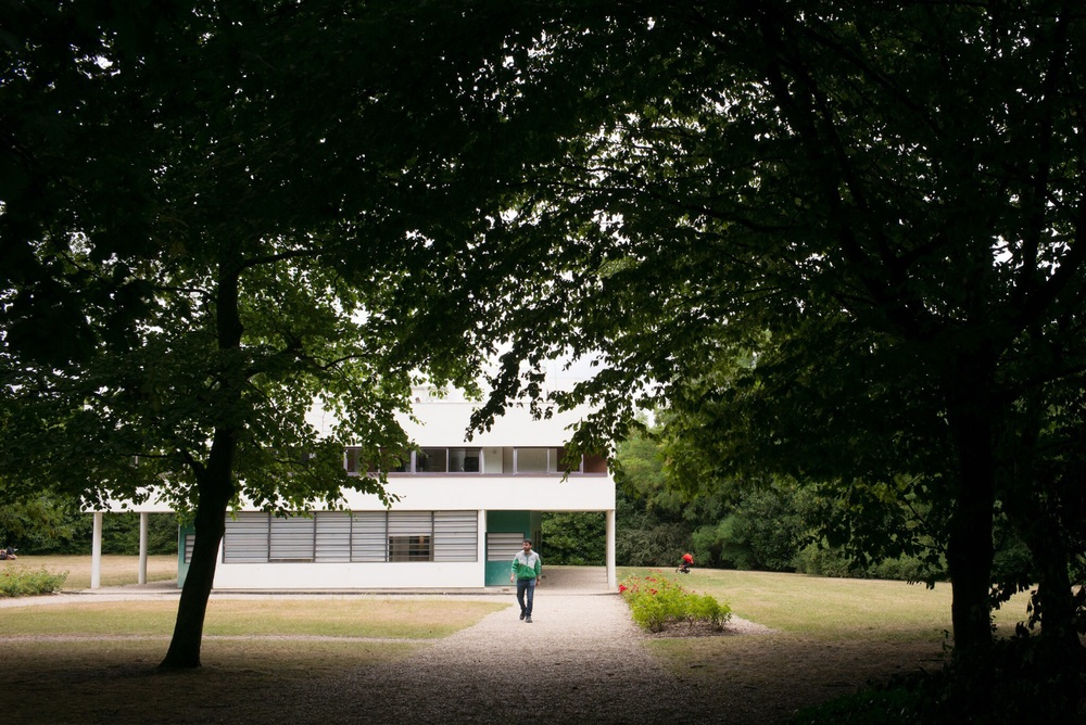 La Villa Savoye à Poissy (par Le Corbusier)